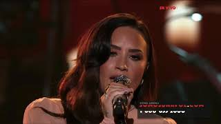 Demi Lovato - Hallelujah (Live at SOMOS Live!) - October 14