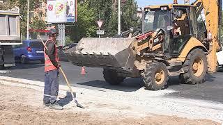 Масштабные работы по ремонту улицы Магистральной подходят к своему завершению