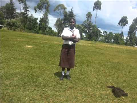 Periods of Shame in Rural Schools in Kenya