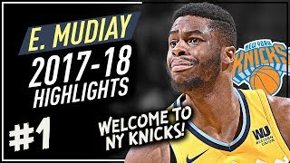 Emmanuel Mudiay SICK Offense Highlights 2017-2018 (Part 1) - TRADED to New York Knicks!