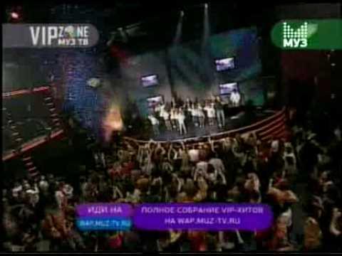 Дискотека Авария - Отцы! (Live in vip zone MUZTV)