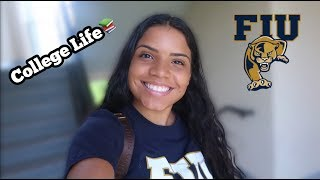 DAY IN THE LIFE OF A COLLEGE STUDENT!!📝 (FLORIDA INTERNATIONAL UNIVERSITY 🔥)