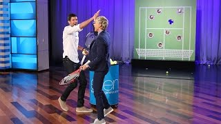 'Smash Your Face' with Novak Djokovic