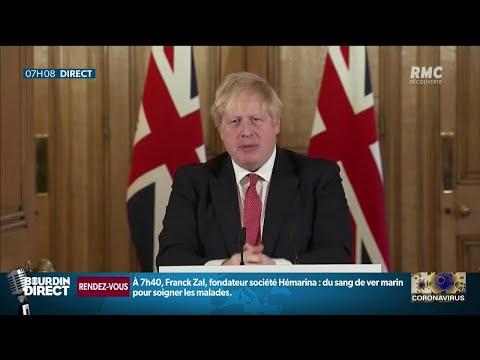 Boris Johnson, le Premier ministre britannique, a été admis à l'hôpital suite au coronavirus