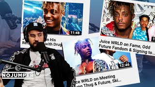 Adam22 Reacts to Hate from Re Uploading Juice WRLD Interview