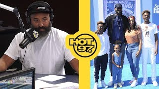 Is LeBron James Doing TOO Much While Supporting Son At His Games? + Ebro Calls Out Jason Whitlock