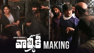 Valmiki Movie Making- Varun Tej, Atharvaa, Pooja Hedge..