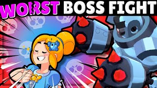 Beating INSANE with TERRIBLE Brawlers in Boss Fight with Lex & OJ!