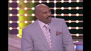 COMEDY: UNFORGETTABLE FAMILY FEUD Answers & Steve Harvey Funny Moments On Family Feud USA!