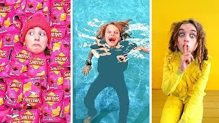 HIDE AND SEEK AT THE SWIM CENTER Challenge w/ The Norris Nuts