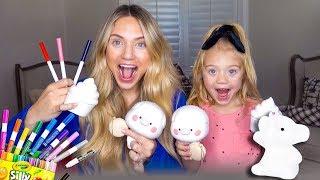 Three Marker Make Your Own Squishy Toy Challenge!!!