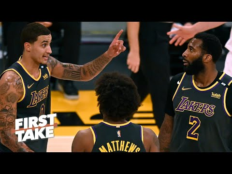 Reacting to the Lakers defeating the Rockets without LeBron and Anthony Davis | First Take