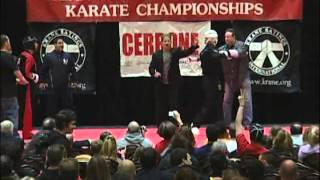 Justin Ortiz vs Greg Betlach 2011 Ocean State Grand Nationals Karate Tournament
