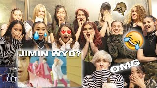 [DANCERS REACT TO] BTS (방탄소년단) - BOY WITH LUV 작은 것들을 위한 시 ft. HALSEY MUSIC VIDEO *crazy & emotional*
