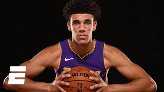 NBA's biggest stars tell the story of Lonzo Ball's rookie season so far | ESPN