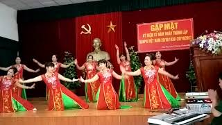 Múa : Đêm Nghe Hát Đò Đưa Nhớ Bác - Giao Lưu Kho KV2 kỷ niệm ngày PN VN 20/10