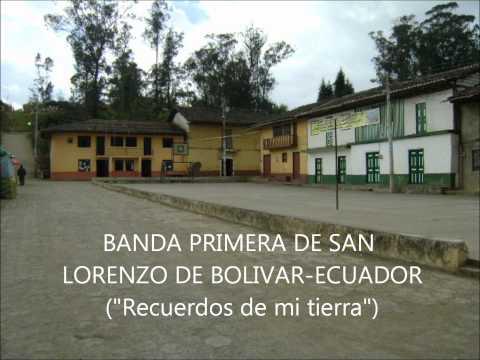 RECUERDOS DE MI TIERRA, albazo Banda Primera