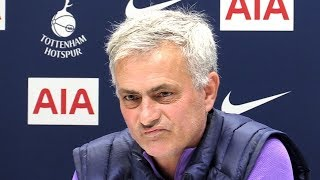 Jose Mourinho FULL Pre-Match Press Conference - Tottenham v Chelsea - SUBTITLES