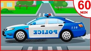 Das Polizeiautos Kinderfilme   Cartoon für Kinder   Animierter Zeichentrick in Deutsch
