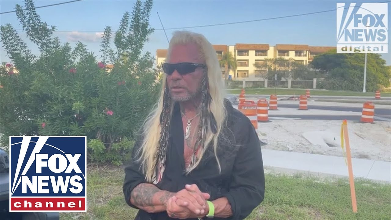 Dog the Bounty Hunter follows 'big lead' for Laundrie into Florida campground