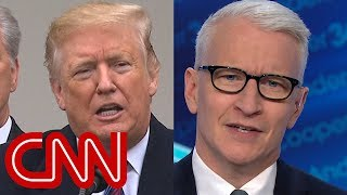 Anderson Cooper takes on Trump's presidential privilege