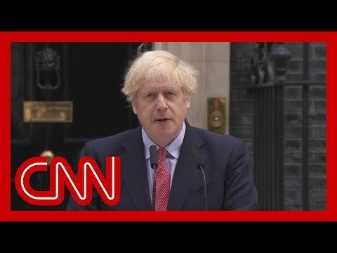 Watch Boris Johnson's first speech after Covid-19 battle