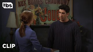 Friends: Rachel Returns Ross' Belongings (Season 3 Clip) | TBS