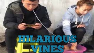 TRY NOT TO LAUGH TO HARD CHALLENGE - Funny Asian Vines 2019