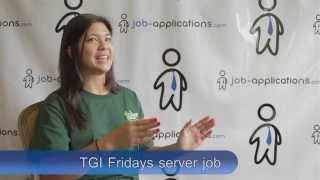 TGI Friday's Interview - Server