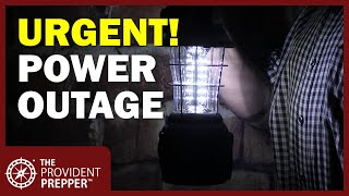 Time to Prepare for an Extended Power Outage