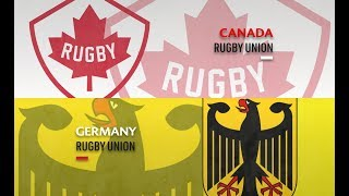 It's Canada v Germany at the Rugby World Cup 2019 repechage in Marseille #RWC2019