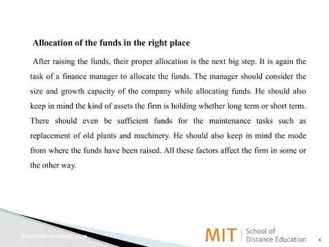 Four Important Roles of Finance Manager | MITSDE