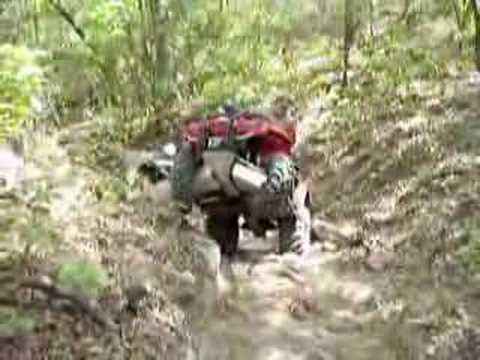 Outlander 800 Mud and dirt