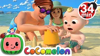 Beach Song + More Nursery Rhymes & Kids Songs - CoCoMelon