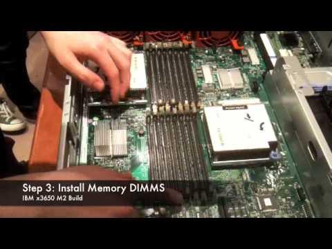IBM x3650 M2 Server Build