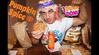 10,000 CALORIE CHEAT DAY| FALL trEATS 🍩