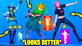 HALLOWEEN Skins Looks Better With These Emotes..!