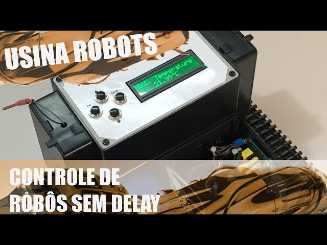 CONTROLE DE ROBÔS SEM DELAY | Usina Robots US-2 #127
