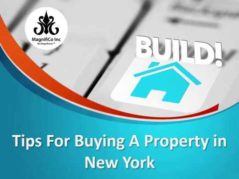 Tips For Buying A Property in New York