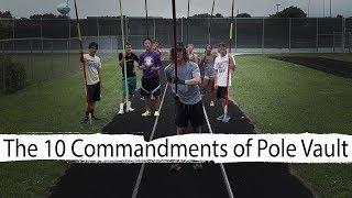 10 Rules of Pole Vault | Team Hoot Pole vault