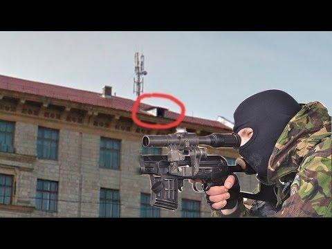 На вулиці Грушевського засіли снайпери