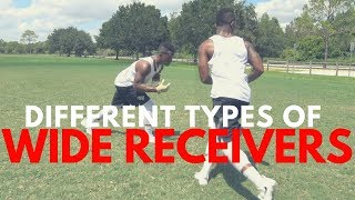 THE DIFFERENT TYPES OF WIDE RECEIVERS..