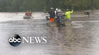 Tropical Storm Florence continues to flood roads and neighborhoods