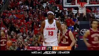 Boston College vs Syracuse College Basketball Condensed Game 2018