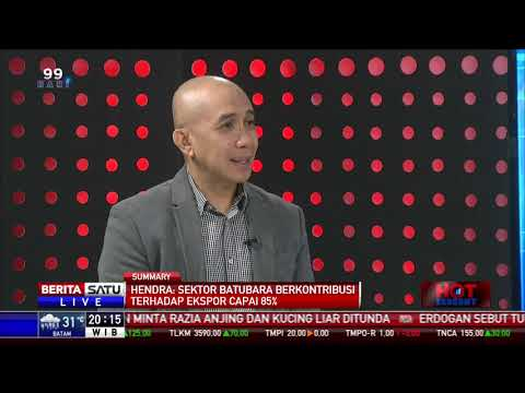 Hendra Sinadia ( Direktur Eksekutif)  APBI  dalam acara Berita Satu TV : Menjaring Devisa Ekspor SDA #1