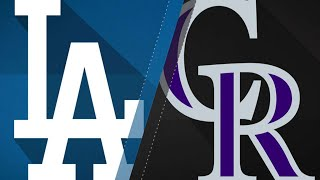 Pederson, Dodgers' offense roll past Rockies: 6/2/18