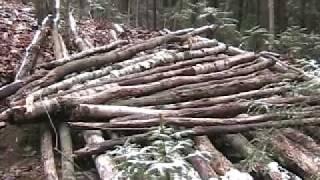 Half Earth Shelter- part 1