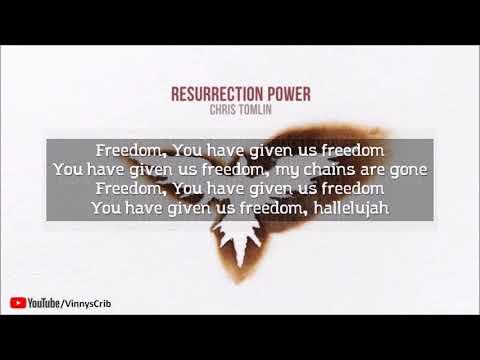 Chris Tomlin - Resurrection Power (Lyrics)