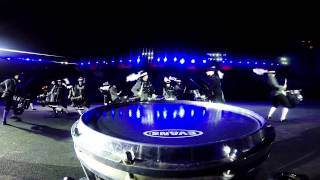 Top Secret & Blue Devils Drum Battle - Snare Cam