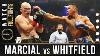 Marcial vs Whitfield FULL FIGHT: December 16, 2020 - PBC on FS1